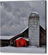 Classic Vermont Barn Acrylic Print