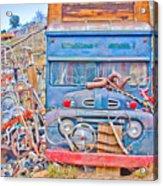 Classic Ward Colorado Boulder County Acrylic Print