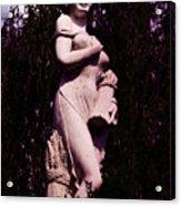 Classical Farm Girl Acrylic Print