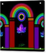 Classical Neon Acrylic Print
