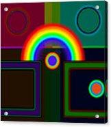 Classical Rainbow Acrylic Print