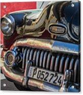 Classics Of Havana Acrylic Print