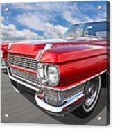 Classy - '64 Cadillac Acrylic Print
