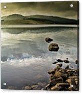 Clatteringshaws Loch Acrylic Print