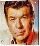 Claude Akins, Vintage Hollywood Actor Acrylic Print
