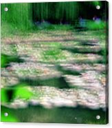 Claude Monets Water Garden Giverny 1 Acrylic Print