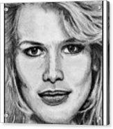 Claudia Schiffer In 1992 Acrylic Print