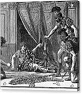 Claudius And Guards Acrylic Print