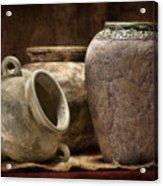 Clay Pottery II Acrylic Print