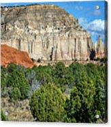 Claystone - Sandstone - Kodachrome Basin Acrylic Print