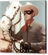 Claytn Moore The Lone Ranger Acrylic Print