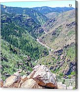 Clear Creek Canyon Acrylic Print