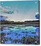Clear Creek Acrylic Print