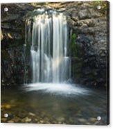 Clear Creek Water Fall Acrylic Print