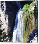 Clear Creek Waterfall  Acrylic Print