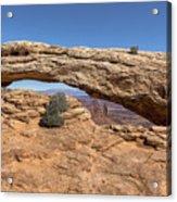 Clear Day At Mesa Arch - Canyonlands National Park Acrylic Print