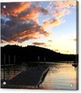 Clear Lake Sunset Acrylic Print