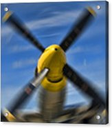 Clear Prop Acrylic Print by Steven Richardson