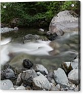 Clear Rapids Acrylic Print