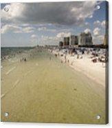 Clear Water Beach II Acrylic Print