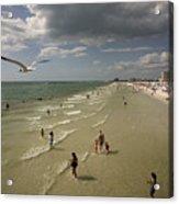 Clear Water Beach Acrylic Print