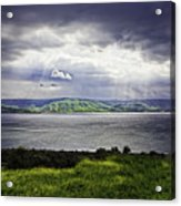 Clearing Over Galilee Acrylic Print