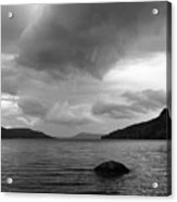 Clearing Storm, Lake Otsego Acrylic Print