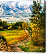 Clearly Colorado Acrylic Print