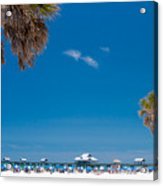 Clearwater Beach Acrylic Print