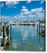 Clearwater Marina Acrylic Print