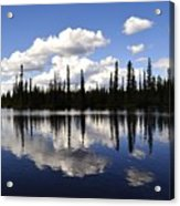 Clearwater Reflections Acrylic Print