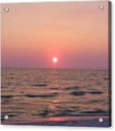 Clearwater Sunset Acrylic Print