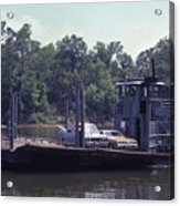 Cleece's River Ferry Nashville Tennessee - 1 Acrylic Print