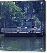 Cleece's River Ferry Nashville Tennessee - 2 Acrylic Print