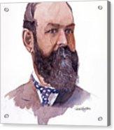 Clement Cornwall Portrait Acrylic Print