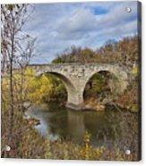 Clement Stone Arch Bridge Acrylic Print