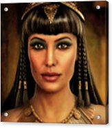 Cleopatra Acrylic Print