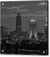 Cleveland After Dark Acrylic Print