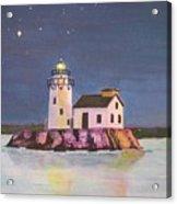 Cleveland Harbor West Pierhead Lighthouse Acrylic Print