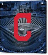 Cleveland Indians Baseball Acrylic Print