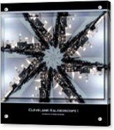Cleveland Kaleidoscope I Acrylic Print