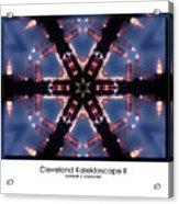 Cleveland Kaleidoscope II Acrylic Print