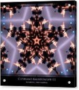 Cleveland Kaleidoscope IIi Acrylic Print