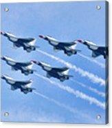 Cleveland National Air Show - Air Force Thunderbirds - 1 Acrylic Print