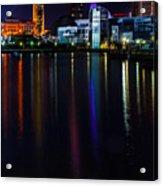 Cleveland Nightly Reflections Acrylic Print