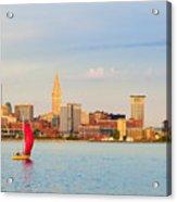 Cleveland On The Lake Acrylic Print