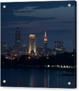 Cleveland Reflections Acrylic Print