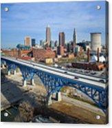 Cleveland Skyline #1 Acrylic Print