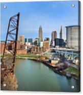 Cleveland Skyline #2 Acrylic Print