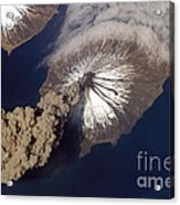 Cleveland Volcano, Iss Image Acrylic Print
